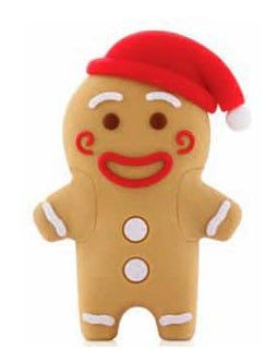 Флешка USB BONE Gingerman 8Гб, USB2.0, коричневый [pk110109-8lbr]