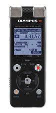 Диктофон OLYMPUS DM-670 8 Gb,  черный