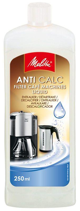 Очиститель от накипи MELITTA для кофеварок и чайников,  1 шт,  250мл