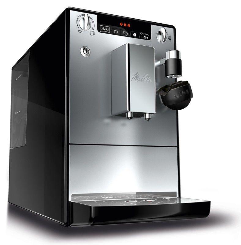 Кофемашина MELITTA Caffeo Lattea,  черный/серебристый
