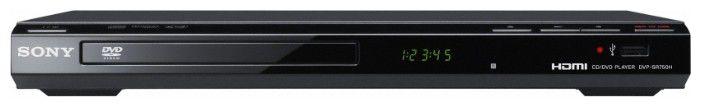DVD-плеер SONY DVP-SR750H,  черный
