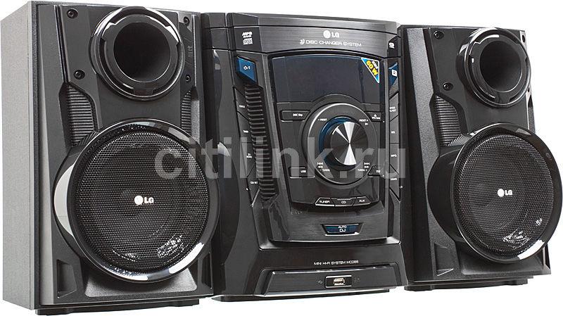 Музыкальный центр LG MCD-66,  черный [mcd66]