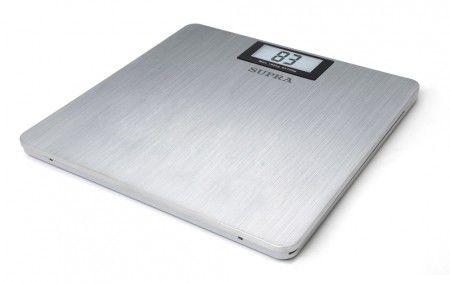 Напольные весы SUPRA BSS-4080, до 180кг, цвет: серебристый