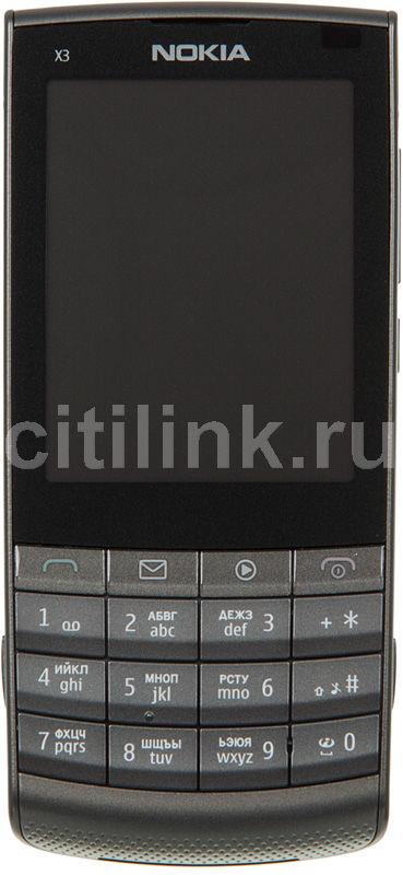 Мобильный телефон NOKIA X3-02.5  темный металлик