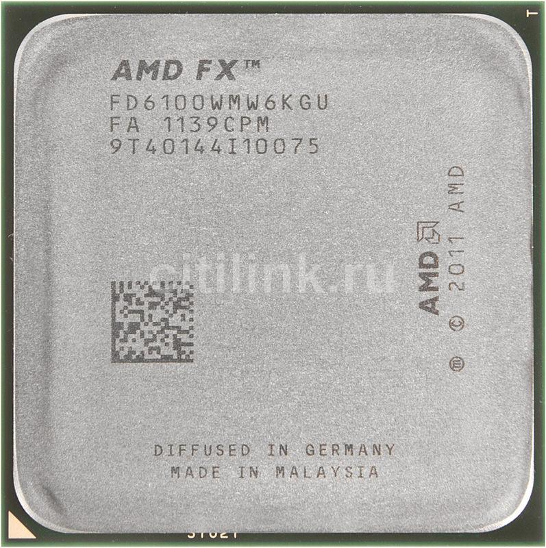 Процессор AMD FX 6100, SocketAM3+ OEM [fd6100wmw6kgu]