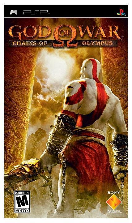 Игра SOFT CLUB God of War: Chains of Olympus (Essentials) для  PSP Rus (документация)
