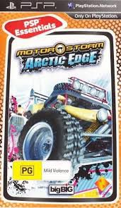 Игра SONY MotorStorm: Arctic Edge (Essentials) для  PSP Rus