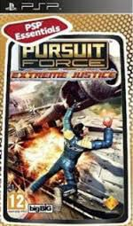 Игра SONY Pursuit Force: Extreme Justice (Essentials) для  PSP Rus