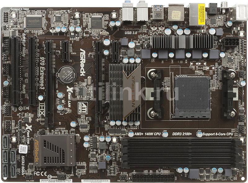 Материнская плата ASROCK 970 EXTREME3 SocketAM3+, ATX, Ret