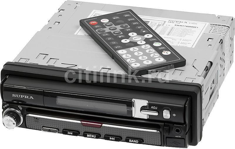 Автомагнитола SUPRA SWM-776,  USB,  SD/MMC