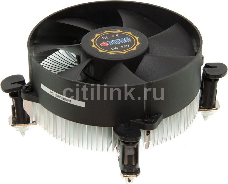 Устройство охлаждения(кулер) TITAN DC-156V925X/R,  95мм, Ret