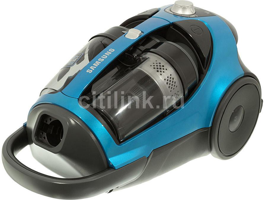 Пылесос SAMSUNG SC8832, 2200Вт, синий