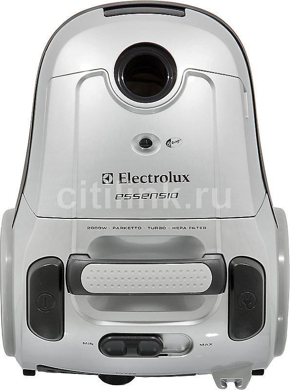 Пылесос ELECTROLUX ZEO5430, 2000Вт, серый