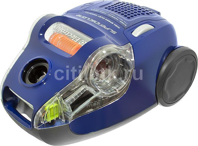 Пылесос ELECTROLUX ZSC6940, 2100Вт, синий
