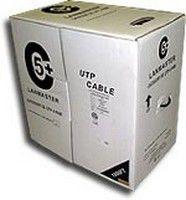 Кабель информ. Lanmaster (LAN-5EUTP-WP-OUT) кат.5е U/UTP 4X2X24AWG PVC внеш. 305м черн.