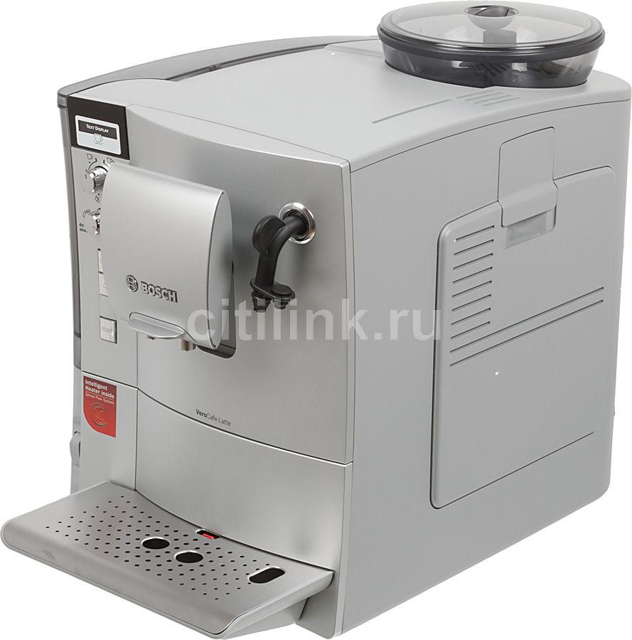 Кофемашина BOSCH VeroCafe Latte TES50321RW,  серебристый