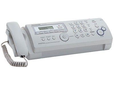 Факс PANASONIC KX-FP218RU,  на основе термопереноса,  белый