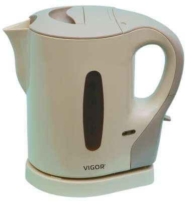 Чайник электрический VIGOR HX-2017, 900Вт, бежевый
