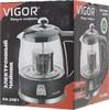 Чайник электрический VIGOR HX-2081, 1700Вт, черный вид 5