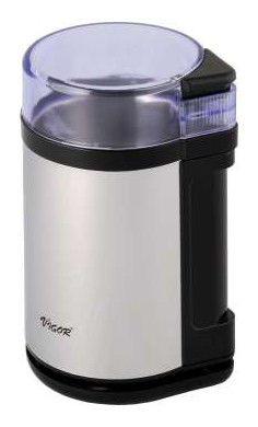 Кофемолка VIGOR HX-3431,  серебристый