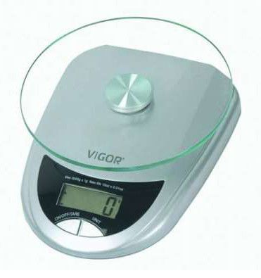 Весы кухонные VIGOR HX-8204,  белый
