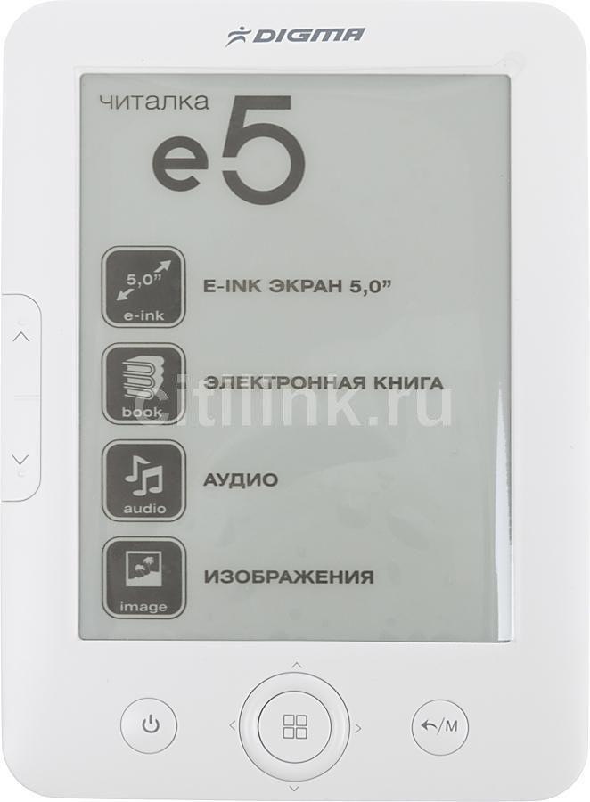 Электронная книга DIGMA e5,  5