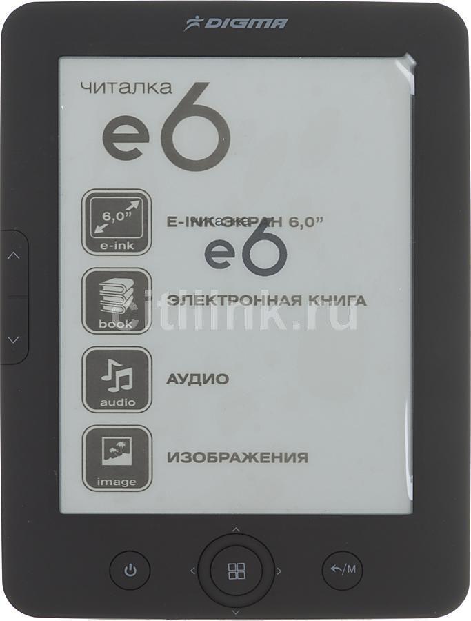 Электронная книга DIGMA e6,  6