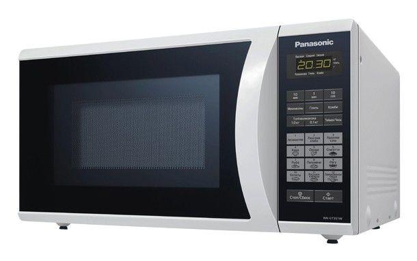 Микроволновая печь PANASONIC NN-GT351WZPE, белый