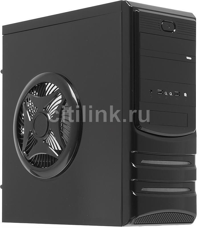 Корпус ATX ACCORD P-18BR, Midi-Tower, без БП,  черный