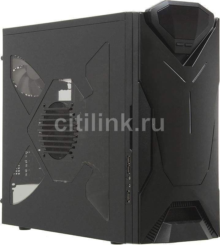Корпус ATX NZXT Guardian 921RB, Midi-Tower, без БП,  черный