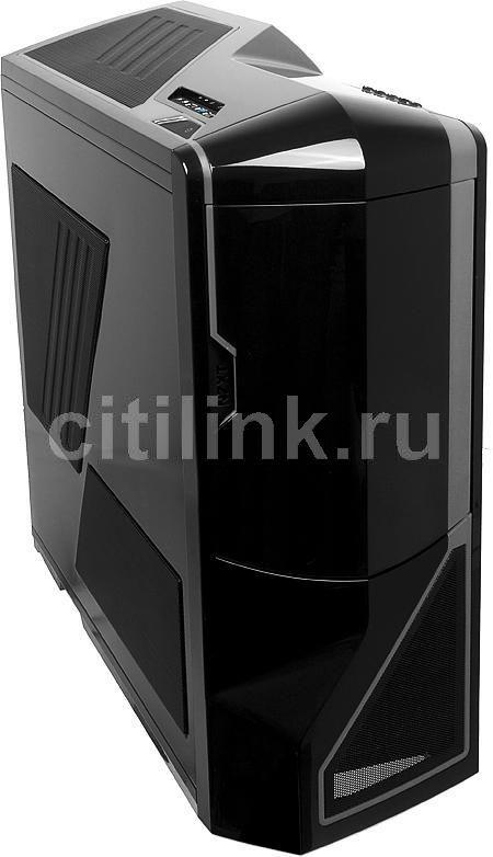 Корпус E-ATX NZXT Phantom, Full-Tower, без БП,  черный
