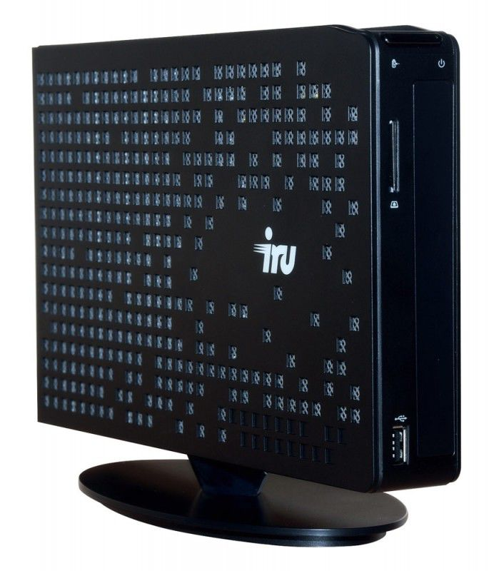 Неттоп  IRU 115,  Intel  Atom  D525,  2Гб, 320Гб,   GeForce GT218,  DVD-RW,  Windows 7 Starter
