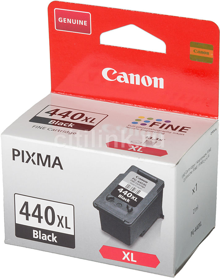 Картридж CANON PG-440XL, черный [5216b001]