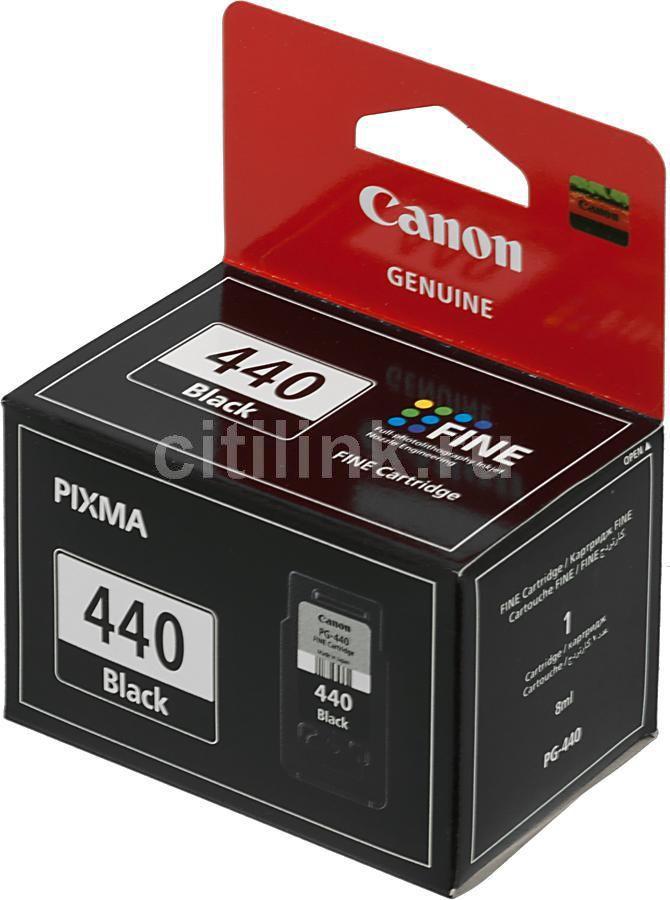 Картридж CANON PG-440, черный [5219b001]