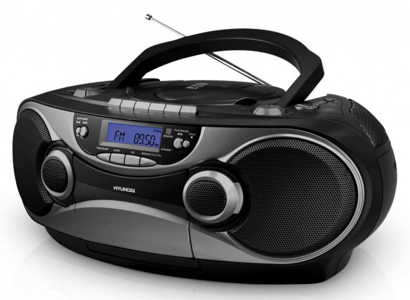 Аудиомагнитола HYUNDAI H-1432,  черный