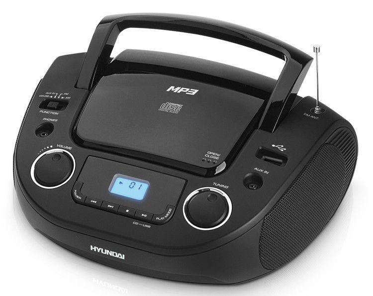 Аудиомагнитола HYUNDAI H-1442,  черный