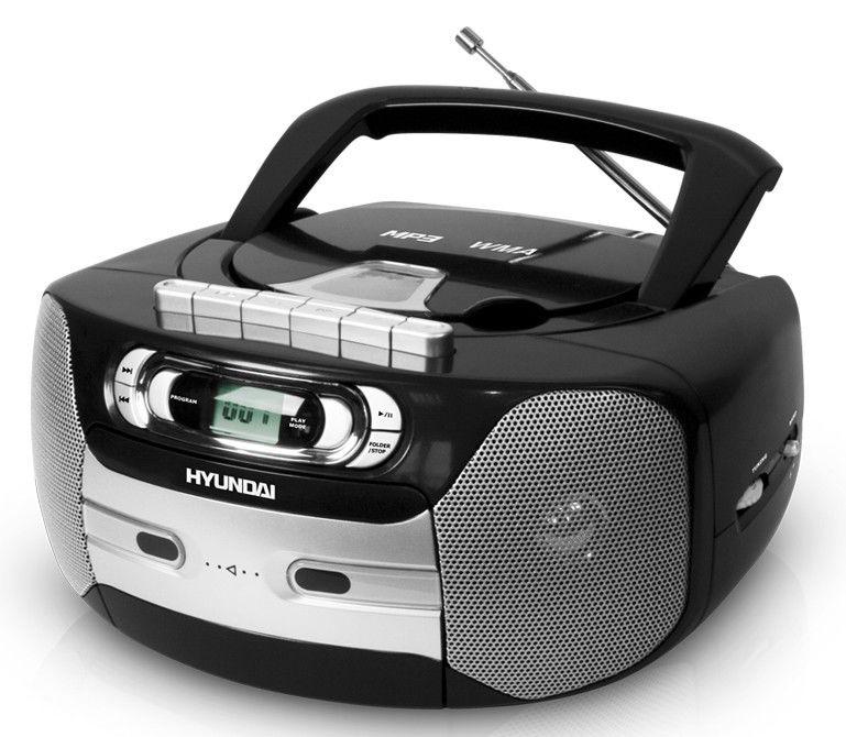 Аудиомагнитола HYUNDAI H-1417,  черный