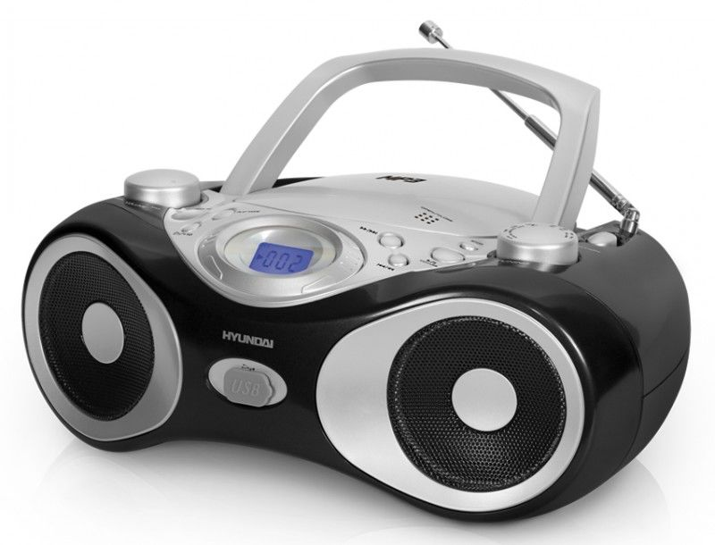 Аудиомагнитола HYUNDAI H-1403,  черный