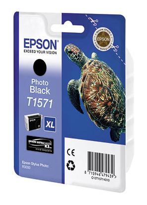 Картридж EPSON T1571 фото черный [c13t15714010]