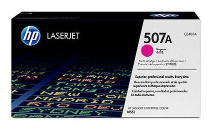Картридж HP №507A пурпурный [ce403a]
