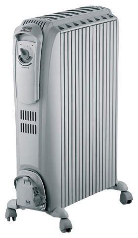 Масляный радиатор DELONGHI TRD0820, 2000Вт, серый