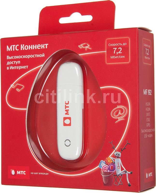 Модем МТС Коннект-4 3G, внешний, белый