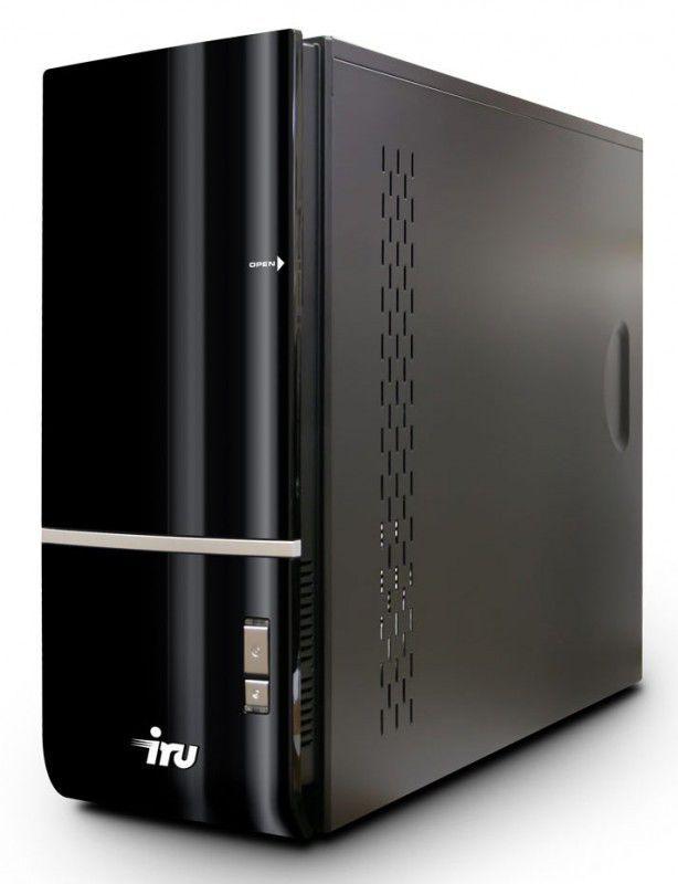 Компьютер  IRU Home 310,  Intel  Core i3  560,  DDR3 4Гб, 500Гб,  nVIDIA GeForce GTX 550Ti - 1024 Мб,  DVD-RW,  CR,  Windows 7 Home Basic,  черный