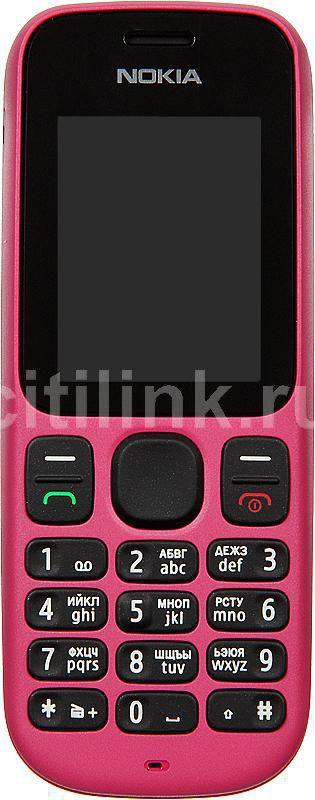 Мобильный телефон NOKIA 100 розовый