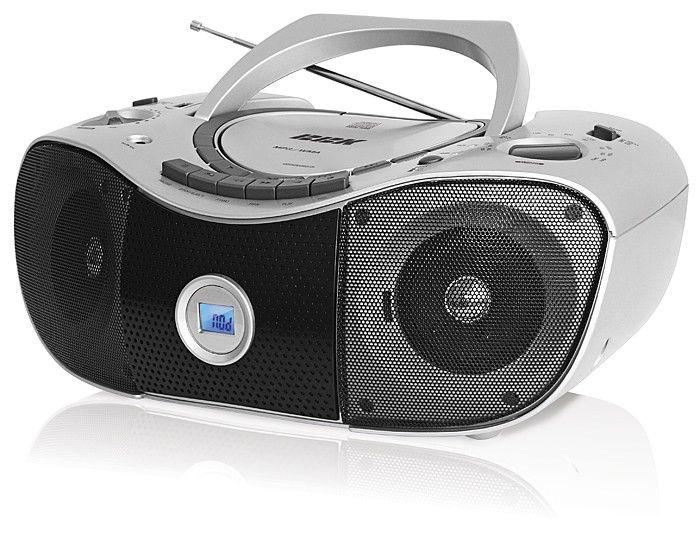 Аудиомагнитола BBK BX311UC,  серебристый