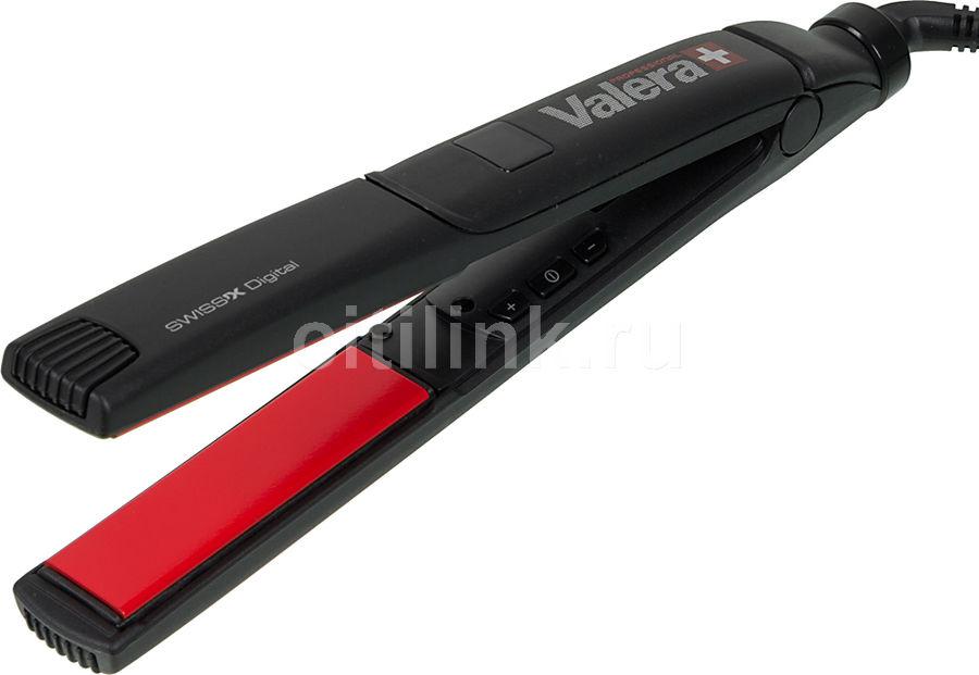 Выпрямитель для волос VALERA Digital Ionic 100.01,  черный и серебристый