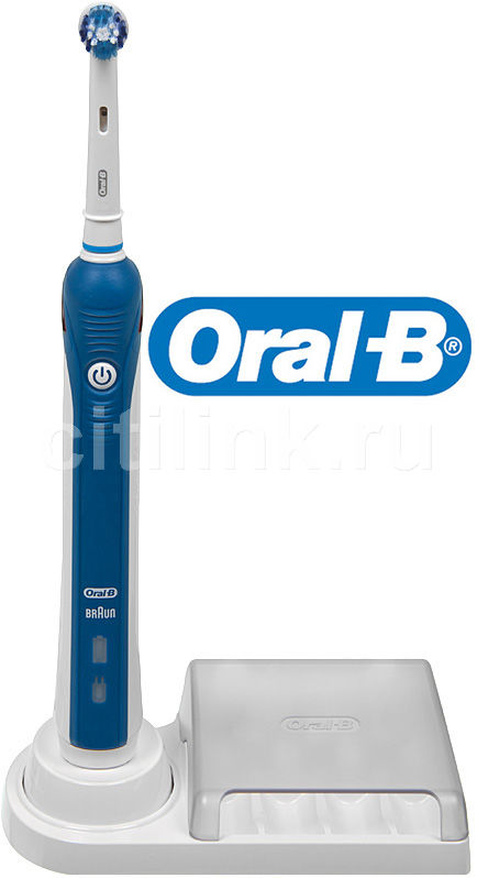 Электрическая зубная щетка ORAL-B Precision Clean PC-3000 белый [81317991/63756718]