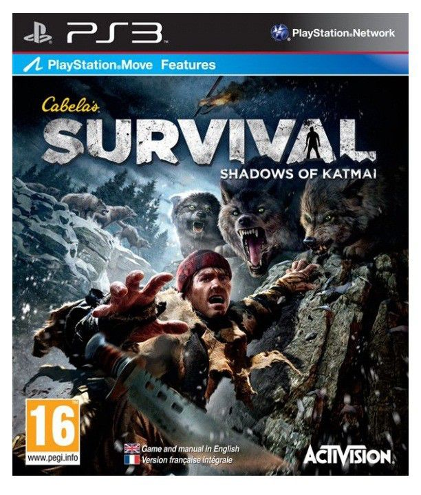 Игра SONY Cabela`s Survial: Shadows of Katmai (Move) для  PlayStation3 Eng