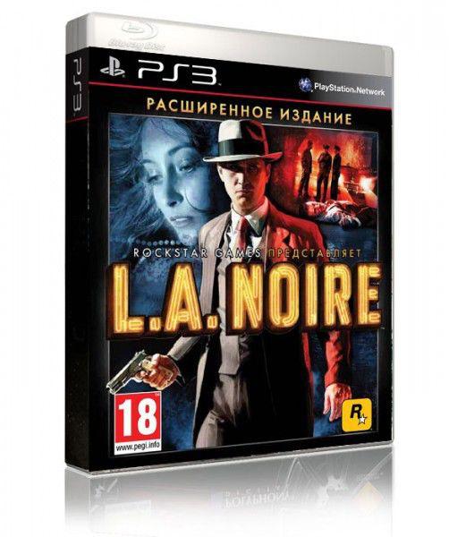 Игра SONY L.A.Noire. Расширенное издание для  PlayStation3 Rus (документация)