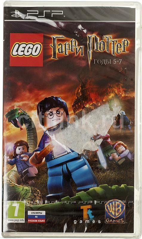 Игра SONY LEGO Гарри Поттер: годы 5-7 для  PSP RUS (субтитры)